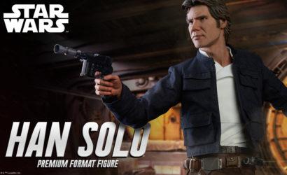 Auflage der Sideshow Han Solo Premium Format Statue bekannt