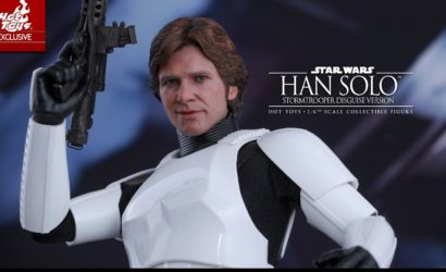 Hot Toys Han Solo in Stormtrooper Disguise 1/6 Scale Figur vorgestellt