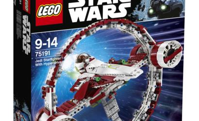 LEGO Star Wars 75191 Jedi Starfighter mit Hyperdrive Ring – offizielle Bilder