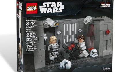 LEGO Star Wars Detention Block Rescue Set als Star Wars Celebration 2017 Exclusive