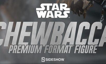 Neue Sideshow Chewbacca Premium Format Statue zu Episode VII