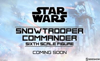 Erste Live-Bilder der Sideshow Snowtrooper Commander 1/6 Scale Figur