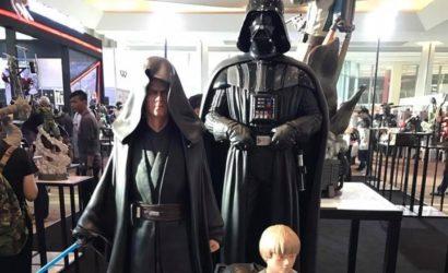 Detailbilder zum XM Studios Darth Vader Statuen Set