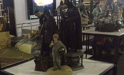 So sieht es aus, das XM Studios Darth Vader Set!