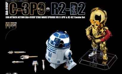 Neues Beast Kingdom R2-D2 & C-3PO Chrome Set vorgestellt
