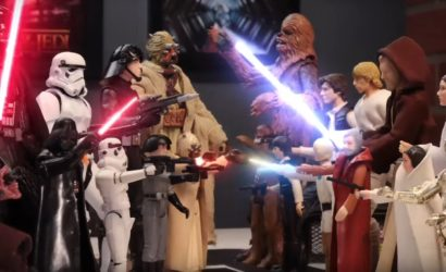 TV-Werbespot für Hasbro Black Series 40th Anniversary 6″ Figuren