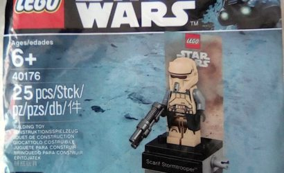 LEGO Star Wars Shoretrooper Polybag 40176 aufgetaucht