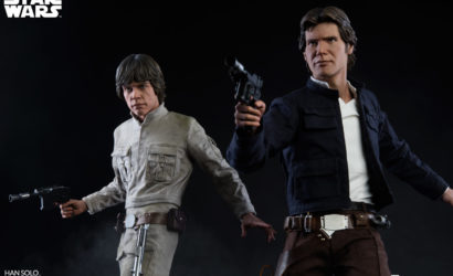 Erster Blick auf Sideshow Luke Skywalker Bespin Premium Format Statue