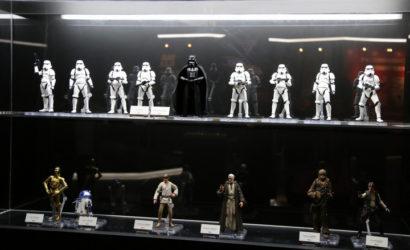 Tamashii Nations S.H.Figuarts Ben Kenobi Figur ausgestellt