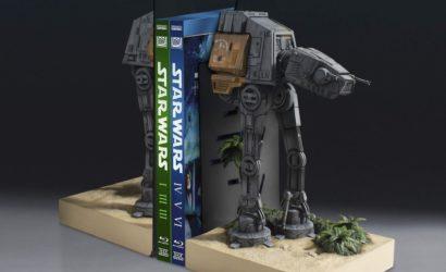 Gentle Giant AT-ACT Walker Buchstützen vorgestellt