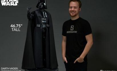 Alle Infos und Bilder zur Sideshow Darth Vader Legendary Scale Figure