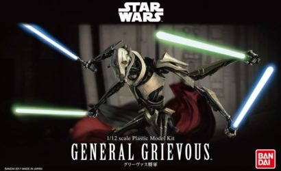 Finale Produktbilder zum Bandai General Grievous Model-Kit