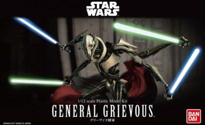 Finale Produktbilder zum Bandai General Grievous Model-Kit