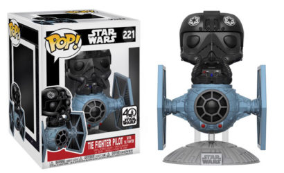 Funko POP! TIE Fighter with TIE Pilot Deluxe Wackelkopf vorgestellt!