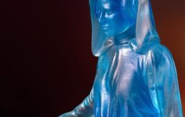 Neue Gentle Giant Holographic Leia Collector's Gallery Statue