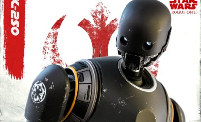 Finale Produktbilder zur Hot Toys K-2SO Sixth Scale Figur