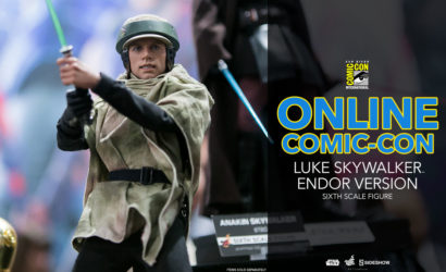 #SDCC2017: Hot Toys Luke Skywalker (Endor Version) 1/6 Scale Figure