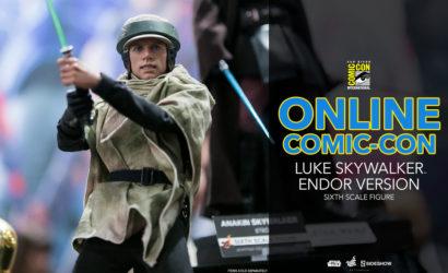 #SDCC2017: Hot Toys Luke Skywalker (Endor Version) 1/6 Scale Figure