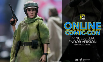#SDCC2017: Hot Toys Princess Leia (Endor Version) 1/6 Scale Figur