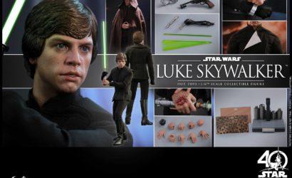 Alle Infos zur neuen Hot Toys Luke Skywalker 1/6 Scale Figur