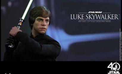 Hot Toys ROTJ Luke Skywalker 1/6 Scale Figur offiziell vorgestellt
