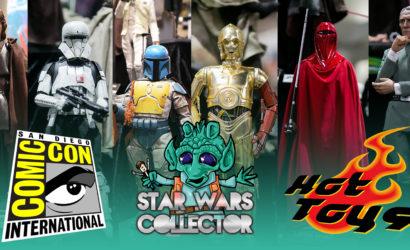 Alle Hot Toys Star Wars Neuheiten von der SDCC 2017 im Überblick!