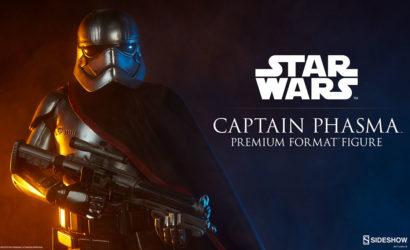 Bald gibt's eine Sideshow Captain Phasma Premium Format Statue