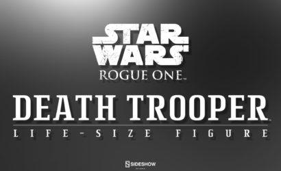 Sideshow Death Trooper Life-Size Figure angekündigt