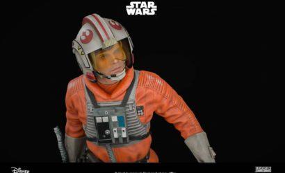 Offizielle Bilder zur XM Studios Luke Skywalker Statue