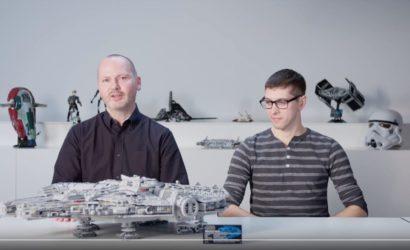 Designer-Video zum neuen LEGO UCS Millennium Falcon