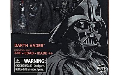 Black Series 6″ Darth Vader – Produktbilder des Re-Packs!
