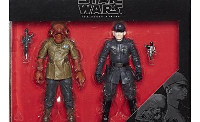 Neues Black Series Admiral Ackbar & First Order Officer 6″ Doppelpack bei TRU!