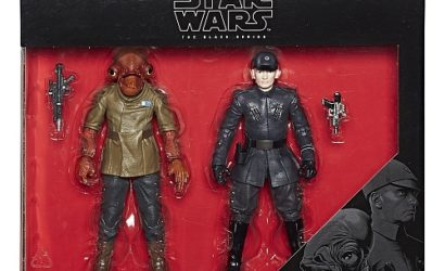 Neues Black Series Admiral Ackbar & First Order Officer 6″ Doppelpack bei TRU!