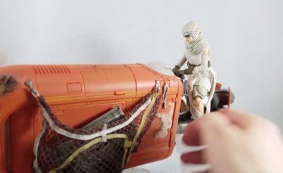 Erstes Review-Video zum Black Series 6″ Rey's Speeder!