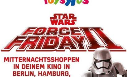 """Toys""""R""""Us Pressemitteilung zum Force Friday"""
