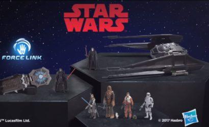Werbespot zum Hasbro Star Wars Force Link Armband
