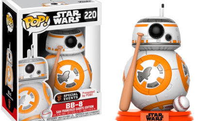 Funko POP! BB-8 als San Francisco Giants Exclusive