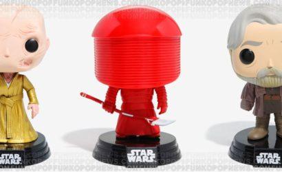 Detaillierter Blick auf die neuen Funko POP! The Last Jedi Wackelköpfe