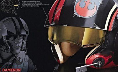 Produktbilder zum neuen Hasbro Black Series Poe Dameron Helm
