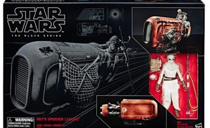 Neue Pressebilder zu Hasbro Rey's Speeder, Landspeeder & Centerpiece Series