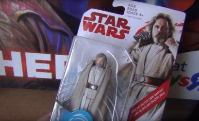 Review-Video zur neuen The Last Jedi 3.75″ Luke Skywalker Figur