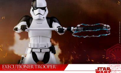 Hot Toys First Order Stormtrooper Executioner 1/6 Scale Figur vorgestellt