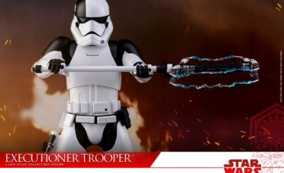 Hot Toys First Order Stormtrooper Executioner 1/6 Scale Figur vorgestellt