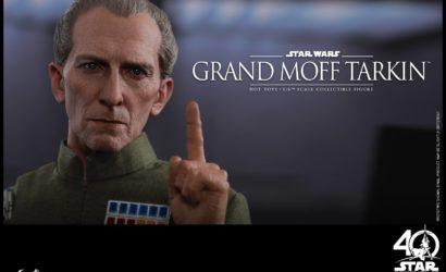 Offizielle Bilder zur neuen Hot Toys Grand Moff Tarkin 1/6 Scale Figur