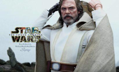 Finale Produktbilder zur Hot Toys Luke Skywalker TFA 1/6 Scale Figur