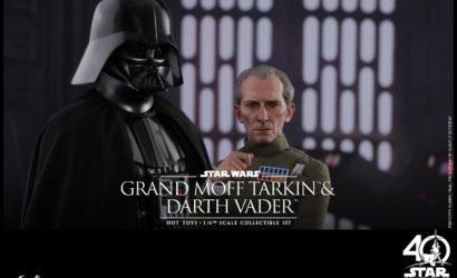 Neues Hot Toys Vader & Tarkin 1/6 Scale Set vorgestellt