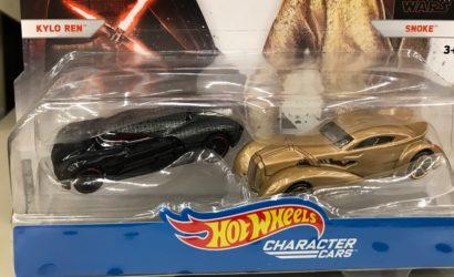 Zwei neue Hot Wheels The Last Jedi Character Car Doppelpacks