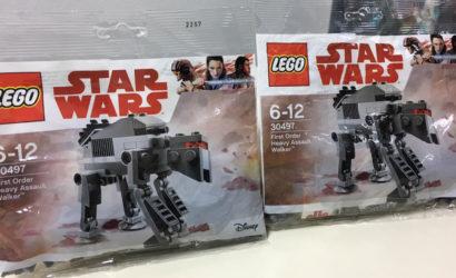 LEGO Star Wars 30497 First Order Heavy Assault Walker Polybag in freier Wildbahn