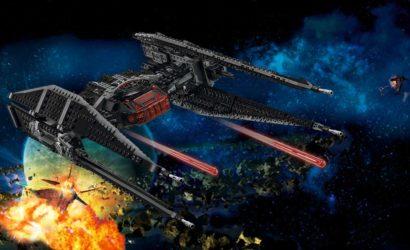 Alle Infos und Bilder zum LEGO Star Wars 75179 Kylo Ren's TIE Fighter