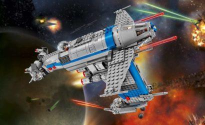 Alle Infos und Bilder zum LEGO Star Wars 75188 Resistance Bomber